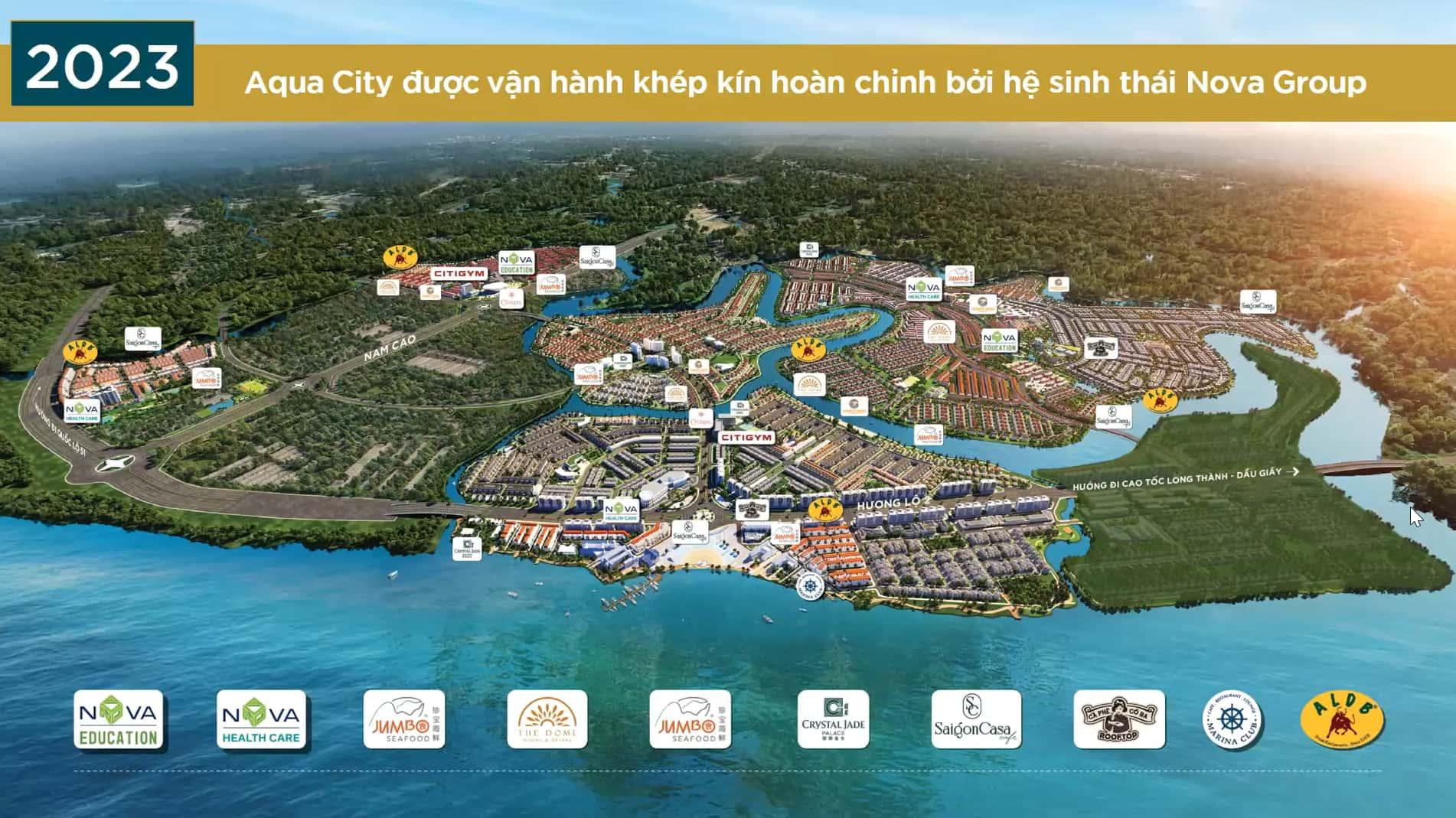 Tiện ích Sun harbor Aqua City