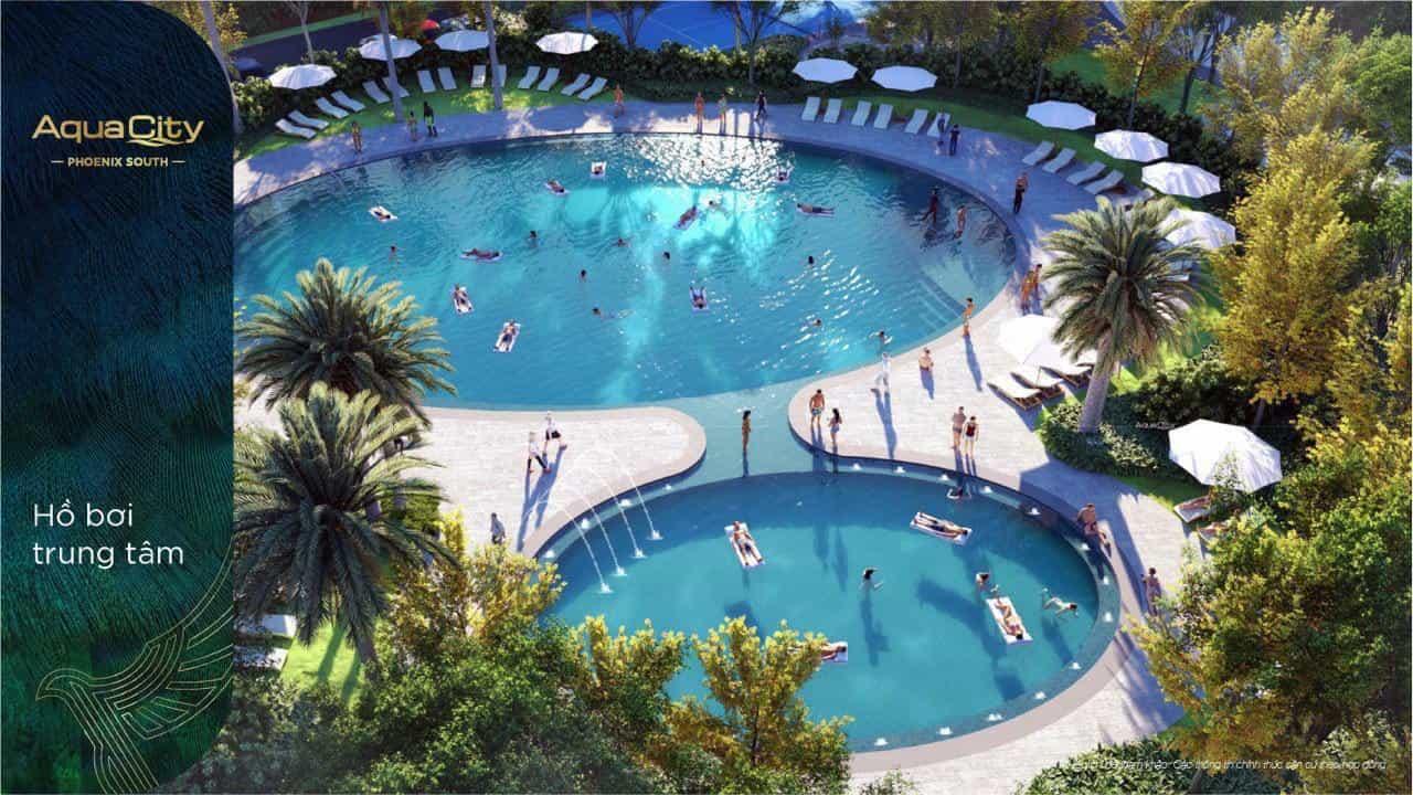 Tiện ích hồ bơi Aqua Phoenix